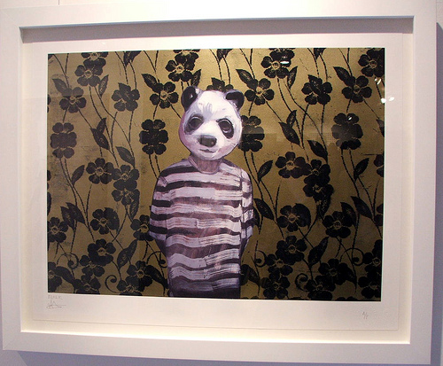 Charming Baker Panda Print