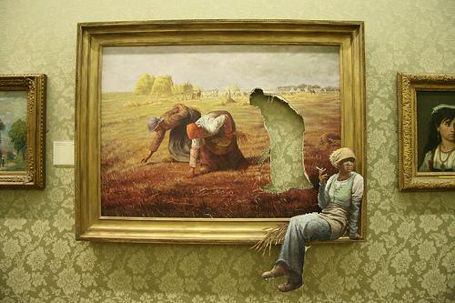 Banksy Oil Paintings