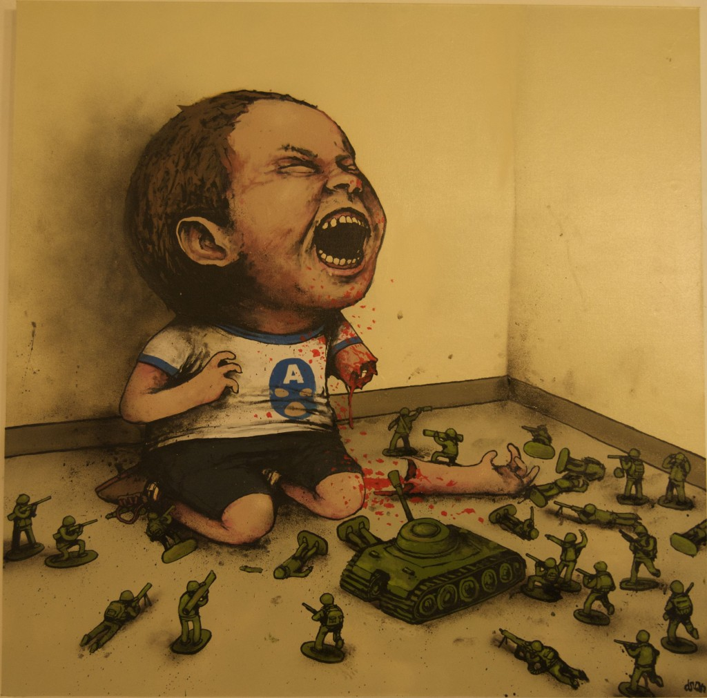 Painting by Dran