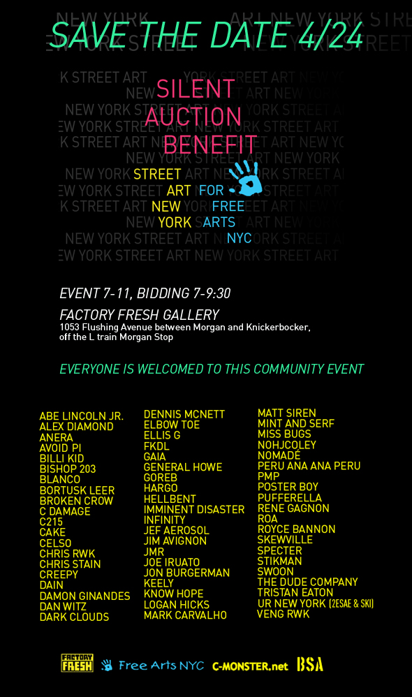 Street Art New York Benefit Auction