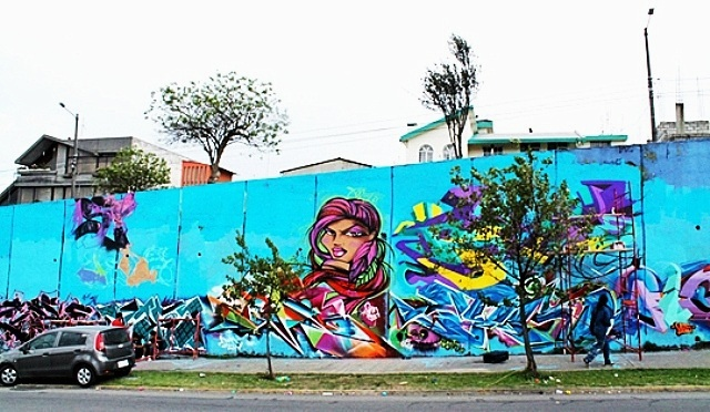 Toofly in Meeting of Styles in Quito, Ecuador