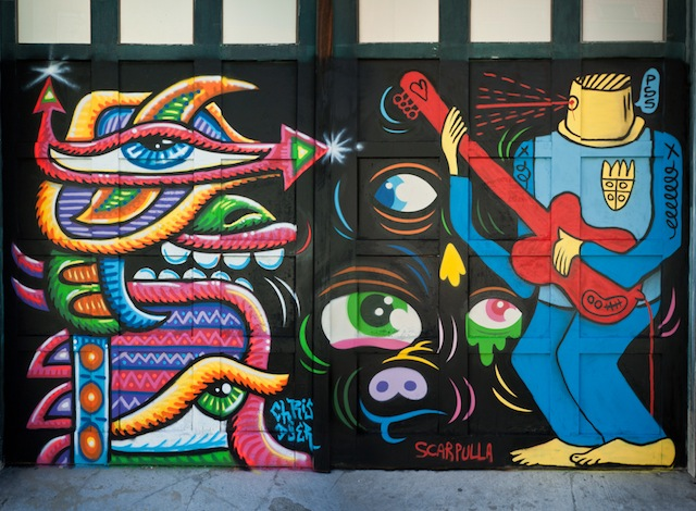 Chris Dyer, Bue The Warrior & Sam Scarpulla