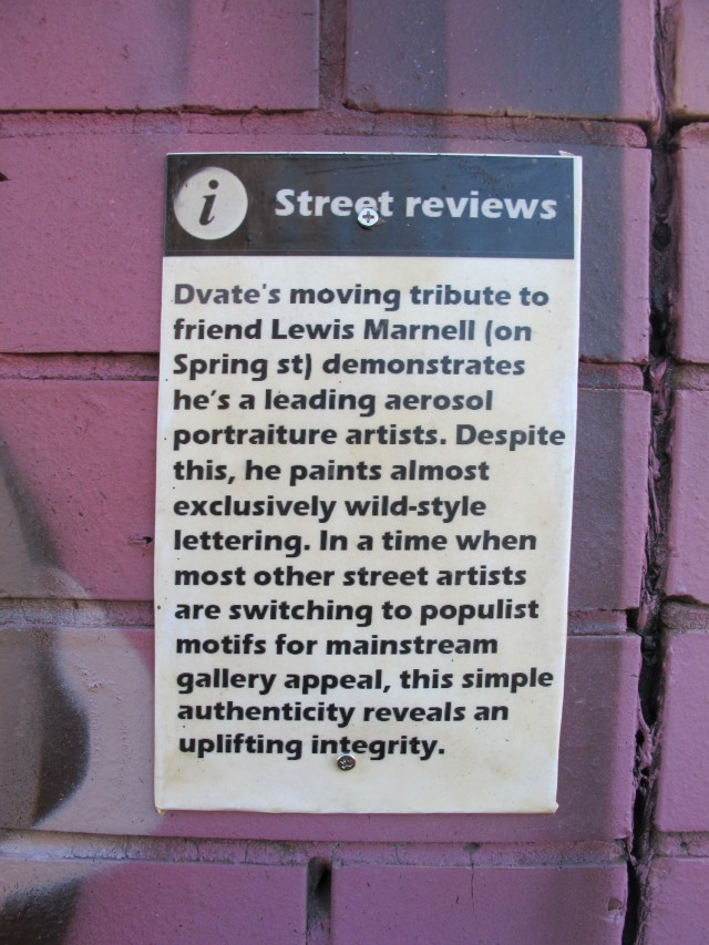 CDH - Street Art reviews - Photo by CDH