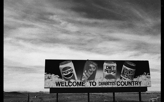 It used to read &quot;Welcome to Pepsi Country.&quot;