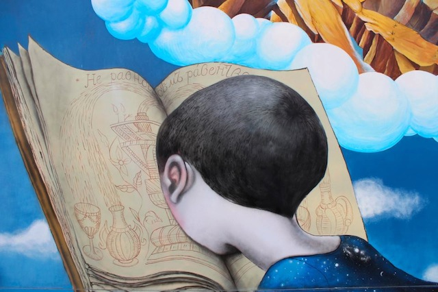 Detail - Seth Globepainter