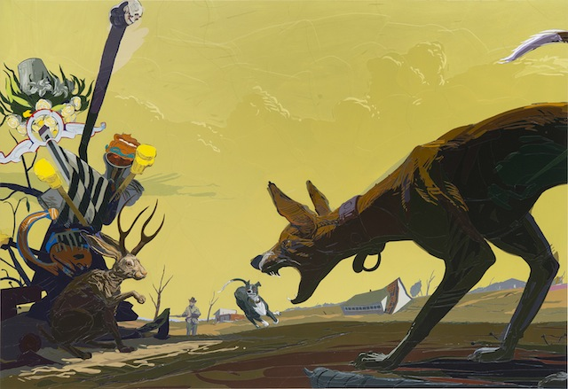 """The Last Jackalope And Other Fables Of The Reconstruction"" by Brian Adam Douglas. Photo courtesy of Brian Adam Douglas."