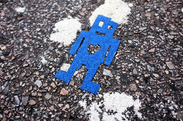 stikman in Philadelphia. Photo by Damon Landry.
