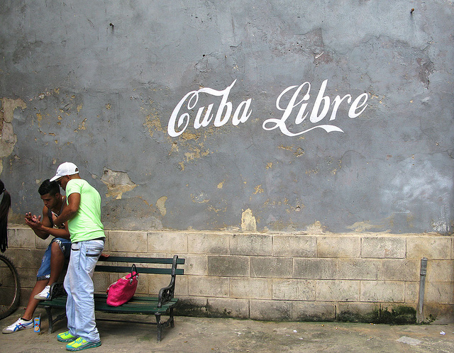 Poster Boy in Cuba. Photo by Poster Boy.