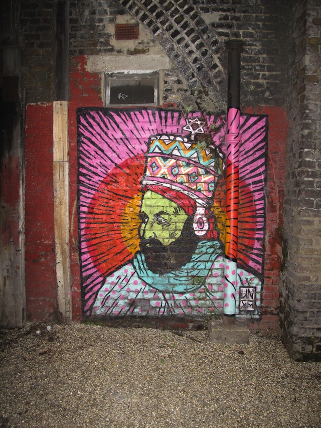 Unga of Broken Fingaz Crew in London. Photo by duncan c.