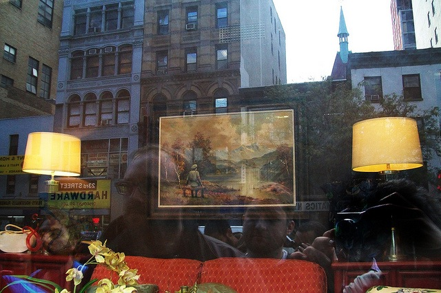 Banksy in a thrift store window. Photo by Allan Molho.