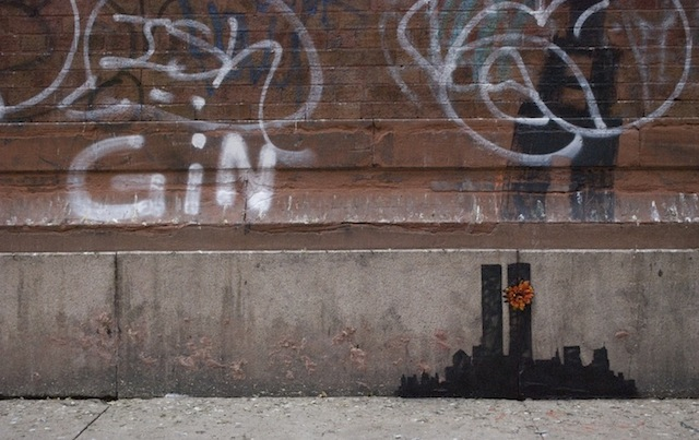 Banksy in Tribeca. Photo from banksyny.com