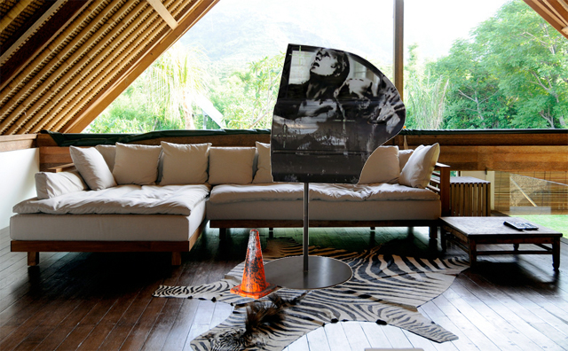 "What """" might look like in a home. Photo illustration by RJ Rushmore, using photos courtesy of FAAM and by Bart Speelman."