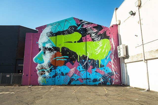 Askew at Hit The Bricks in Newcastle, Australia. Photo courtesy of Askew.
