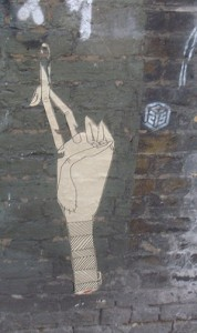 Paste-up by Know Hope in London. Photo by RJ