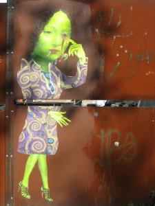 Eye Woman - Judith Supine