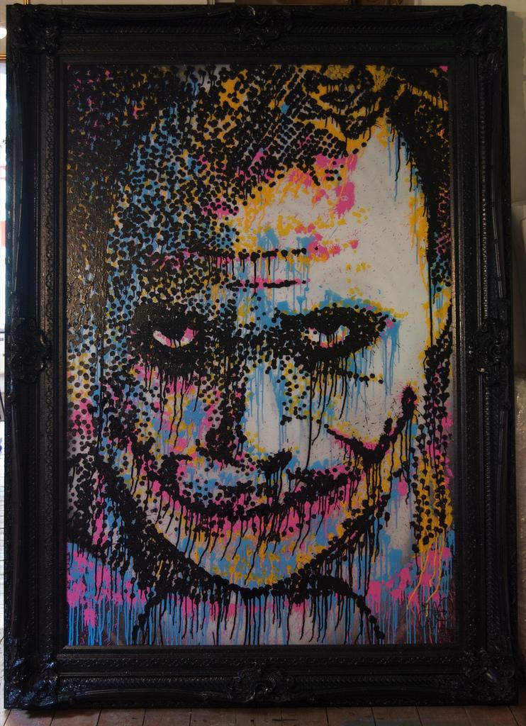 Pure Evil's Heath Ledger tribute. Photo by Pure Evil
