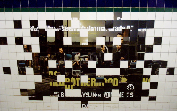 Pixelated Tiles by Posterboy. Photo by Posterboy