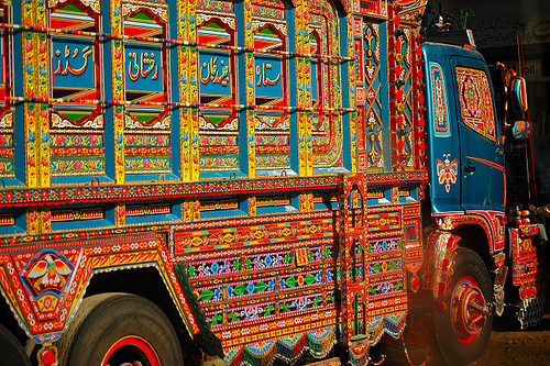Truck Art In Baluchistan. Photo by Umair Mohsin