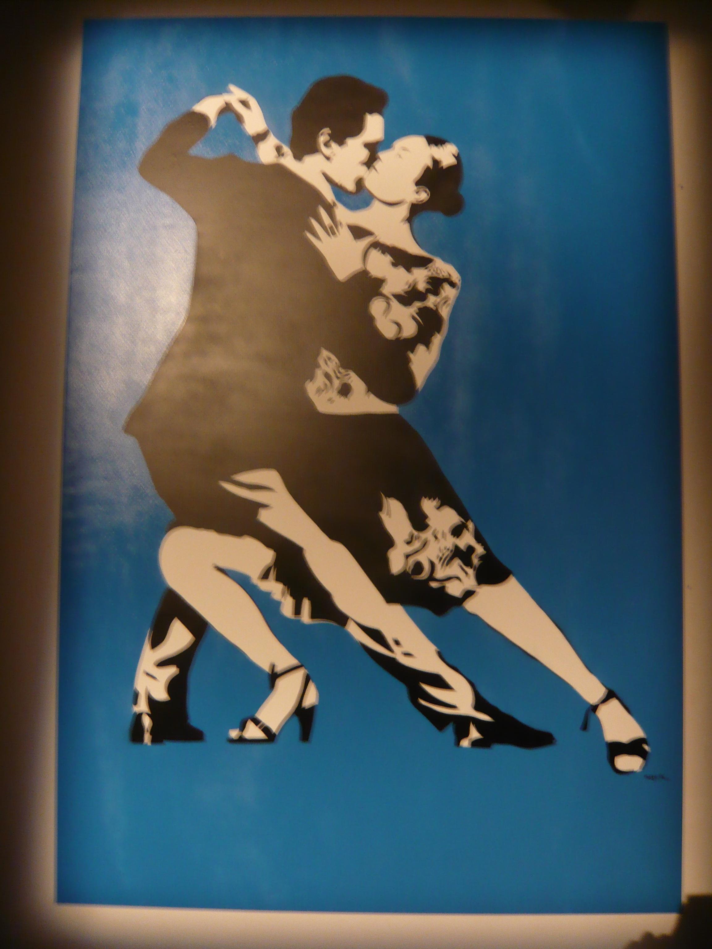 Tango by Blek le Rat. Photo by RJ
