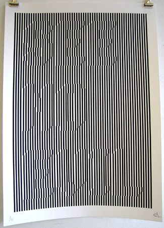 Print by Melvin Galapon. Image from londonprintclub.com