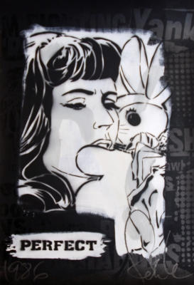 Bunny Girl (perfect) for £3200. Edition of 7. Image from blackratpress.com