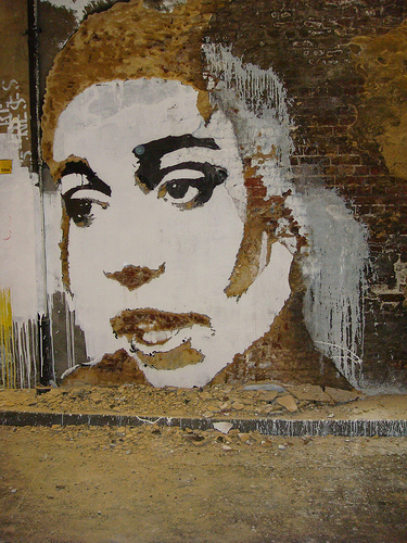 Vhils at Cans Festival. Photo by RJ