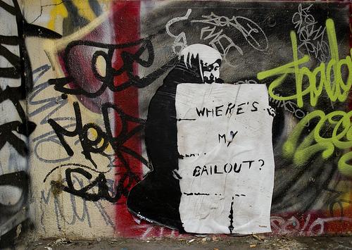 Where's My Bailout by Icon Propaganda. Photo by Jake Dobkin