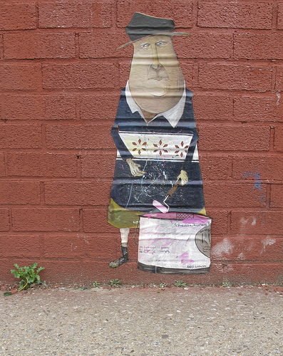 Veng Wheatpaste Painting