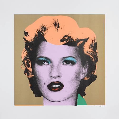 Banksy Kate Moss