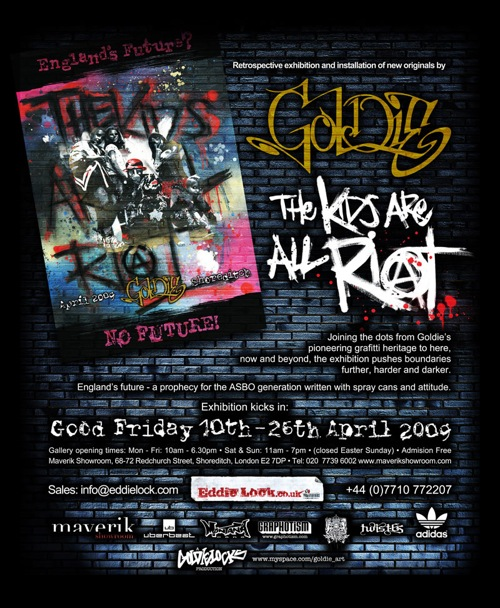 Goldie Riot Flyer