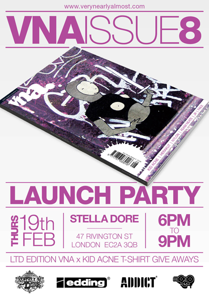 VNA Issue 8 Launch