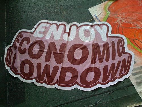 """Enjoy Economic Slowdown"" photo by same_same"