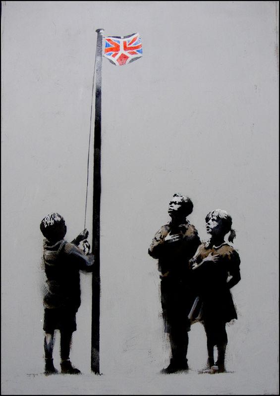 Banksy Pants