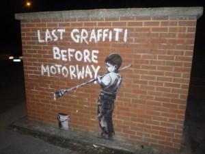 Banksy Motorway