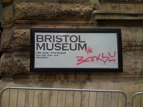 Banksy Sign