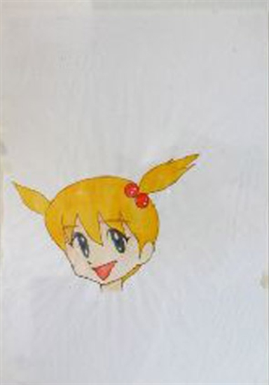 "Mr. ""Untitled (Yellow Hair)"" 1996"