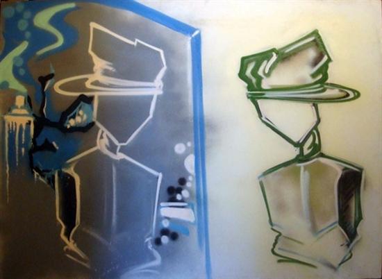 "Dondi White ""Reflections"", 1983"