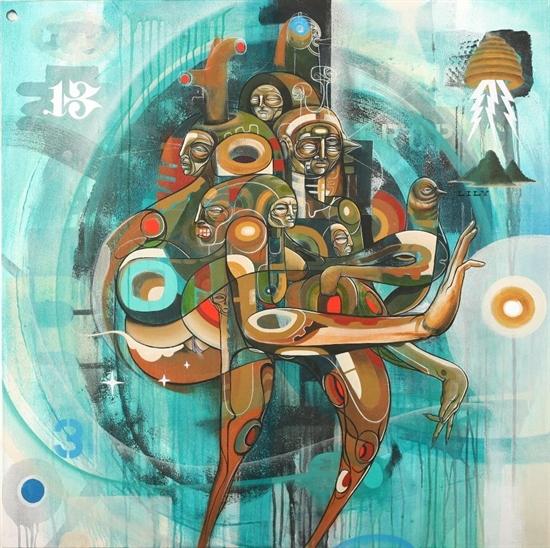 "Doze Green ""Ancestros Totemic Series: Cuba"" 2008"