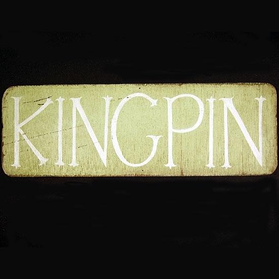 "Margaret Kilgallen ""Kingpin"" 1997"
