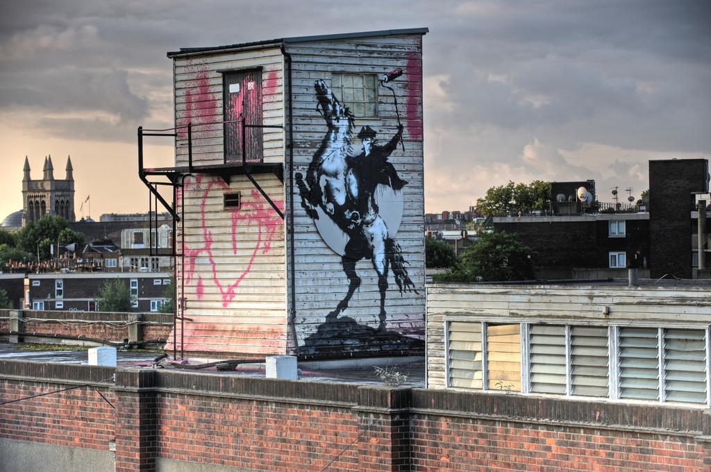 Banksy Zorro