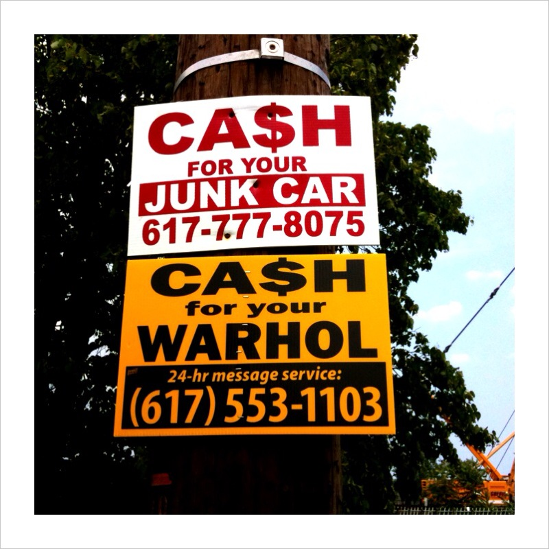 cash for your warhol east boston