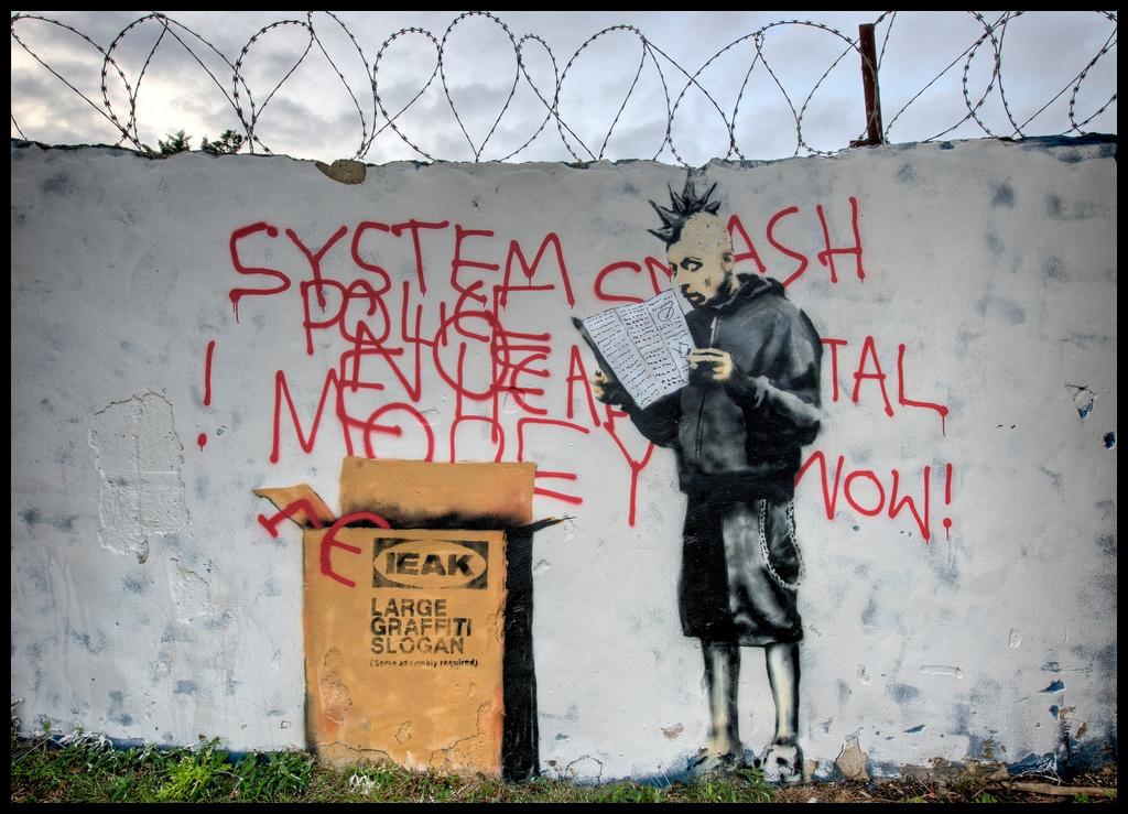 Banksy punk