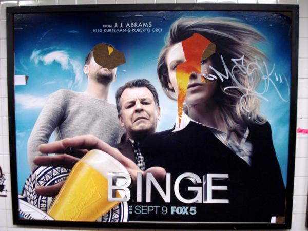 Binge Poster boy