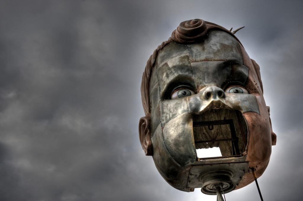 Giles Walker_Baby Head