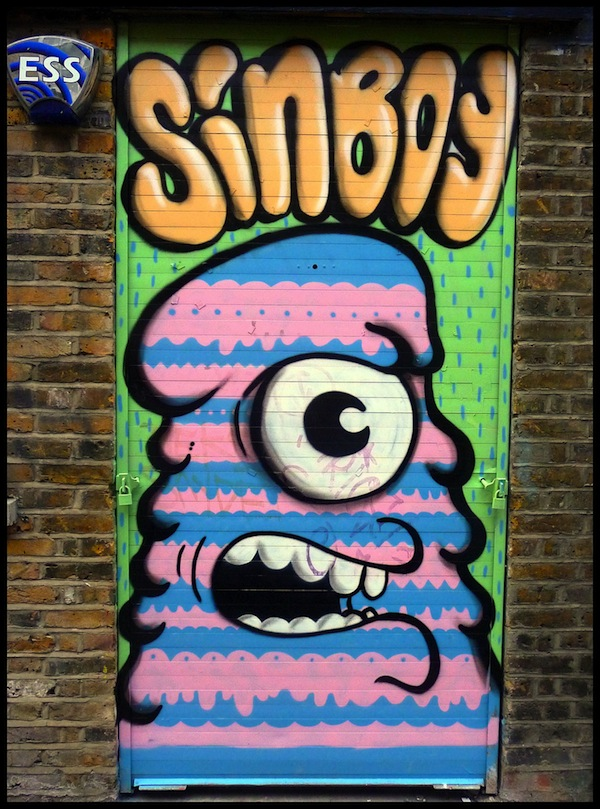 Sinboy in London. Photo by HowAboutNo!