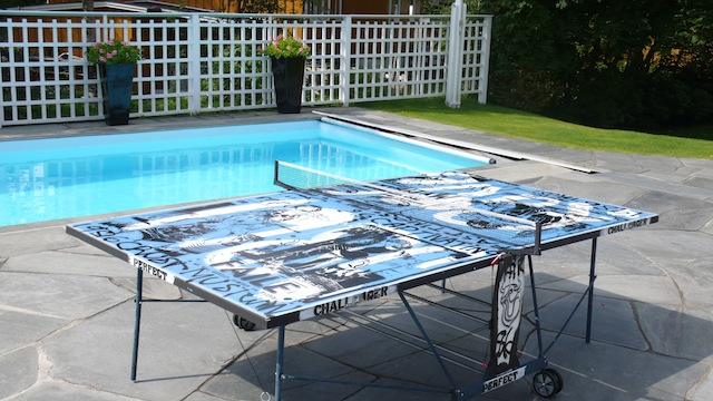A Faile Customized Ping Pong Table