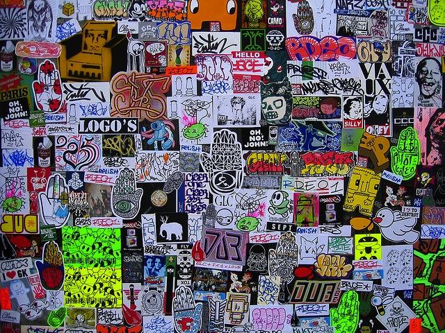 stickers vandalog a street art blog