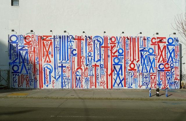 Vandalog – A Viral Art and Street Art Blog » Retna at the historical Bowery/Houston wall
