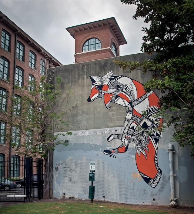 La Pandilla And Trek Matthews For Living Walls Concepts Vandalog