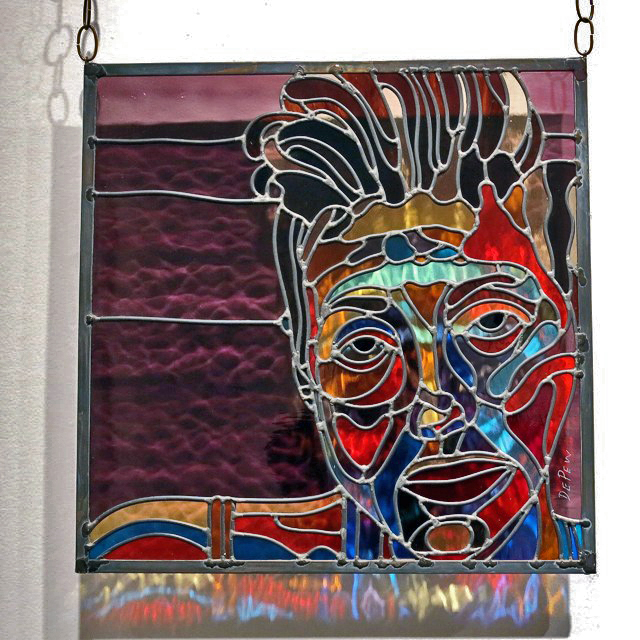 Tony DePew, Rebecca Weinberg, Stained Glass Panel
